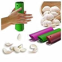 GOOTRADES Magic Silicone Garlic Peeler Peel Easy Useful Kitchen Tool (pack of 2)