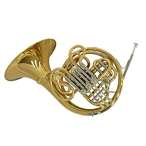 Schiller American Elite VI (A) French Horn w/ Detachable Bell - Yellow Brass and Nickel by Schiller