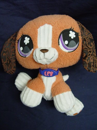 Hasbro Littlest Pet Shop Plush Beagle Puppy Dog 8