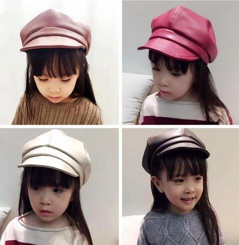 5 Boy da bambino Cappello Bonnet Chiaro Girl da baseball Pu Acvip Cappello colori Giallo Beret WgPpwnqT