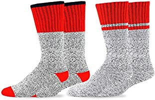 Soxnet Eco Friendly Heavy Weight Recycled Cotton Thermals Boot Socks 2-Pack