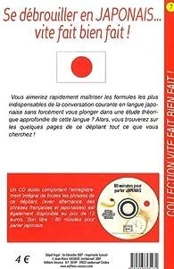 Se débrouiller en japonais... vite fait bien fait ! par Jean-Pierre Vasseur