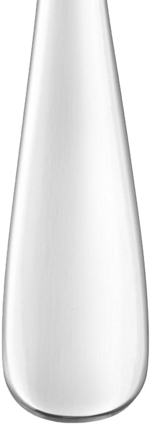 Basics Service de 12 cuill/ères /à soupe en acier inoxydable avec bord arrondi