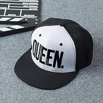 KNSXRD Sombrero Gorra de béisbol Fashion King Queen para Hombres y ...