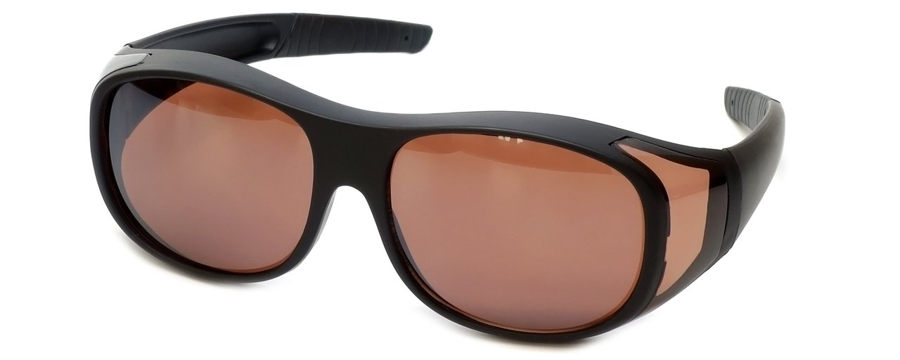 eeb7988cd4 Over Sunglasses Large UV400 Protection Lens Wear Over Prescription Glasses  Mens Womens + Pouch product image