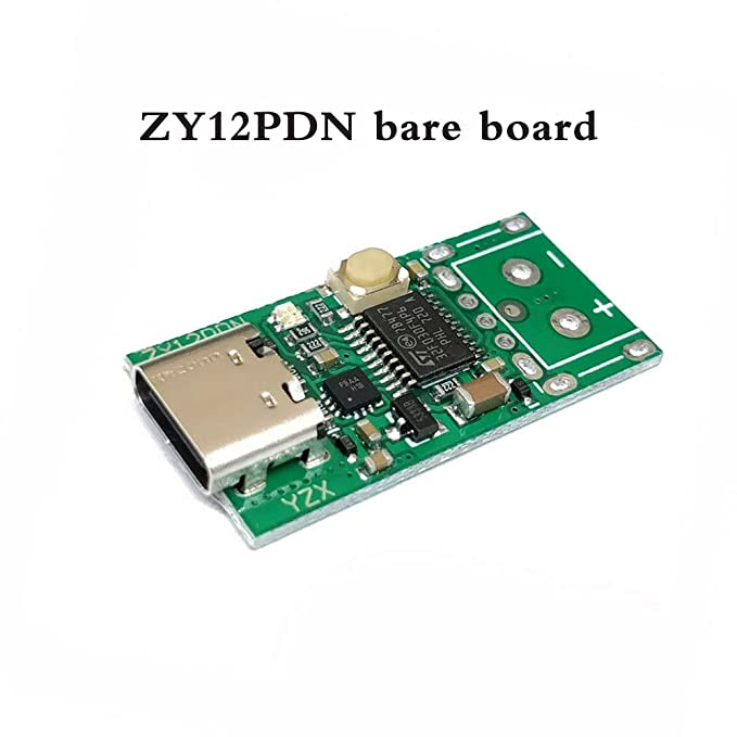 USB Type-C breakout board for Power Delivery ZY12PDN bare board
