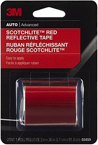3M 03459C Red Scotchlite