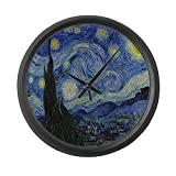 Cheap CafePress – The Starry Night – Large 17″ Round Wall Clock, Unique Decorative Clock