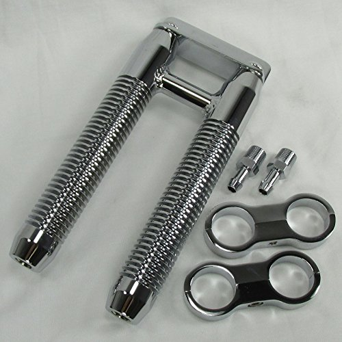 DUAL Finned Billet Oil -Cooler for MOST Harley Models WITH PARALLEL DOWNTUBE MOUNTS Clamps - Fits 1-1/4