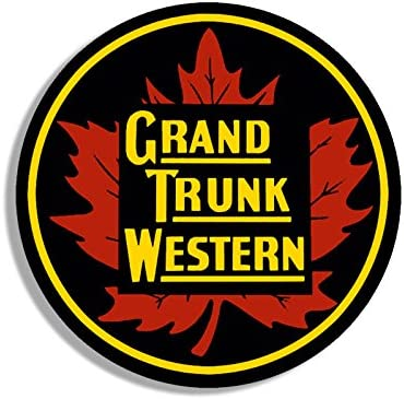 Amazon Com American Vinyl Round Grand Trunk Western Railroad