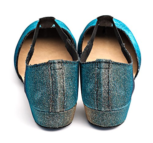Jive Shoe Ladies Multi Dancewear Girls Blue By Sandal Ballroom Salsa Gold Cerco Glitter Cloured Sparkly Katz Greek Dance Teaching P1ZPSqw