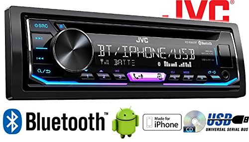 JUST SOUND best choice for caraudio Multicolor Einbauzubeh/ör Bluetooth USB Einbauset f/ür Mitsubishi Colt bis 2008 MP3 Autoradio Radio JVC KD-R992BT Android