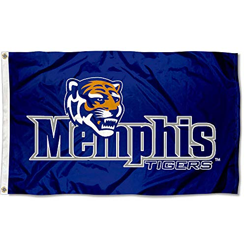 (Memphis Tigers University Large College Flag)