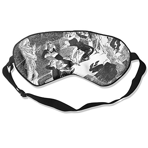 Sleep Mask Now Let Me Tell One Eye Cover Blackout Eye Masks,Soothing Puffy Eyes,Dark Circles,Stress,Breathable Blindfold by MB32