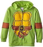 4 film favorites ninja turtles - Teenage Mutant Ninja Turtles Big Boys' TMNT Padded Hoody with Masks, Green, X-Large