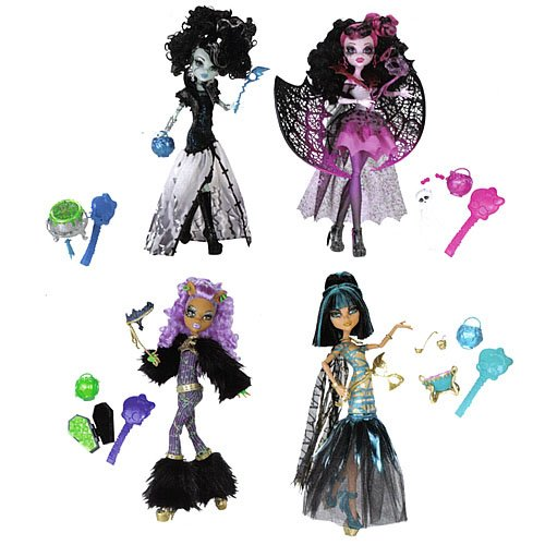 [Monster High Ghoul's Rule Girls' Halloween Night Out] (Monster High Cleo De Nile Halloween Costumes)