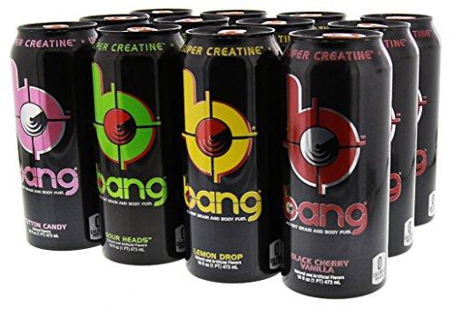 VPX Bang Variety Pack 2 RTD 12 per Case - 16 fl oz (1 PT) 473 ml