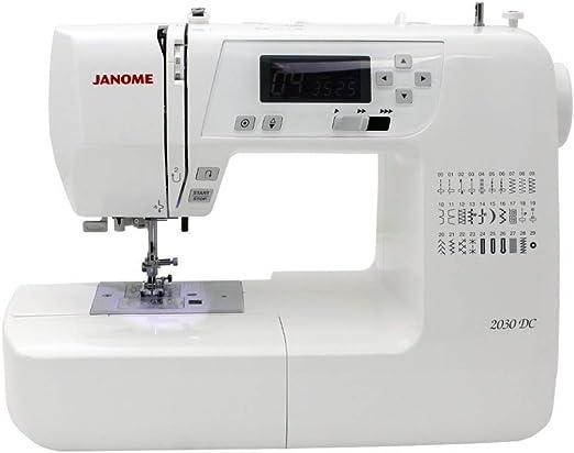 Janome 2030 DC - Máquina de coser computarizada: Amazon.es: Hogar