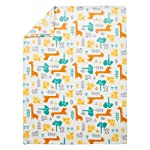 Trend-Lab-Plush-Baby-Blanket-Yellow-Lullaby-Jungle