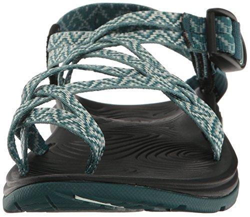 Chaco Damen Zvolv X2 Athletic Sandale Girlande Teal