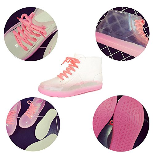 Colors Candy Boots Transparent Pink Shoes Women Ladies Summer Zhuhaixmy Rubber Rainboots Rain xI7Owqttz