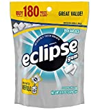 Eclipse Sugarfree Gum, 180 Piece Bag