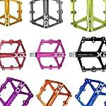FrontStep-Pedali-Antiscivolo-in-Alluminio-Generale-Pedali-per-Biciclette-Leggeri-con-Perno-in-Acciaio-CR-Mo-per-MTBPedale-Mountain-BikePedale-BMX