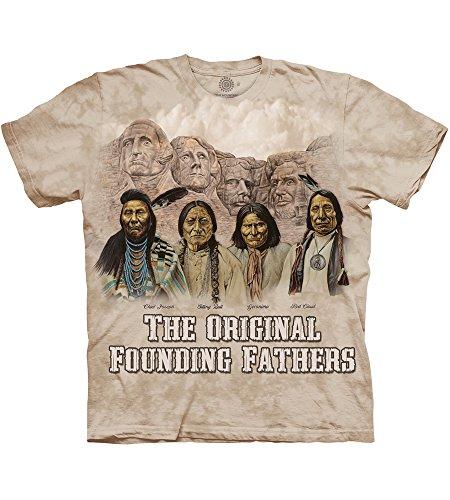 The Mountain The Originals Adult T-Shirt, Ivory, Medium