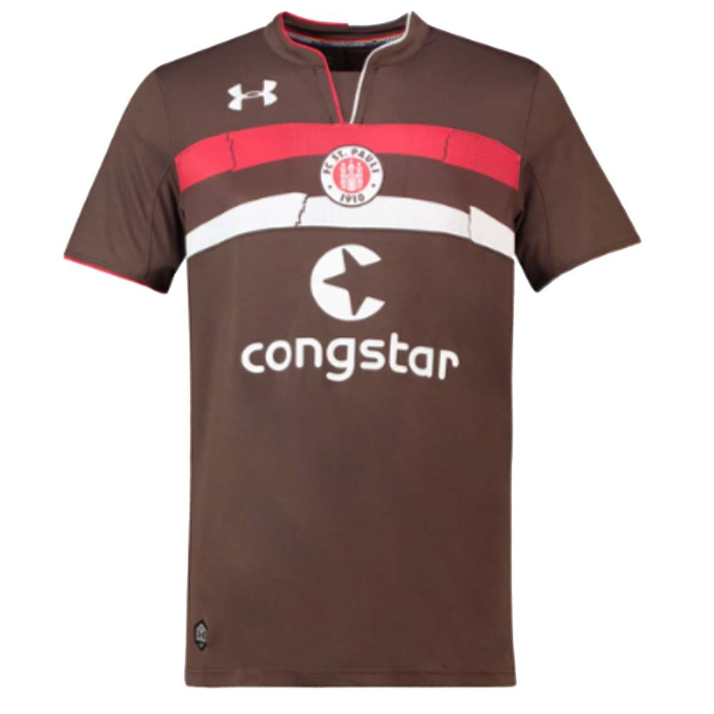2018-2019 St Pauli Home Football Shirt (Kids) B07D8PDPZ2Brown Medium Boys 28-30\