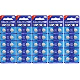 Fortune LR44 AG13 Alkaline 1.5V Button Coin Cell Batteries 50 Pack