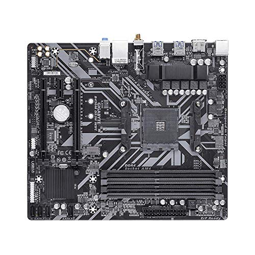 Gigabyte B450M DS3H WiFi-Y1 (AM4/ AMD B450/ SATA 6GB/s/USB 3.1/ HDMI/WiFi/mATX/AMD Motherboard)