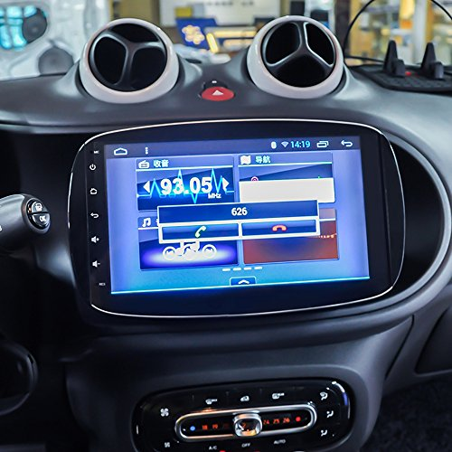 audiosources smart forfour fortwo android car stereo