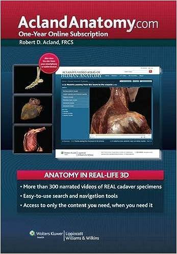 AclandAnatomy.com: One-Year Online Subscription: 9781451145007 ...