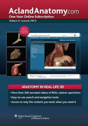 Aclandanatomy.Com (Access Card)
