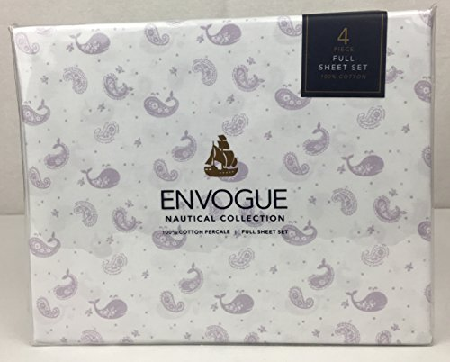 ENVOGUE Nautical Collection 100% Cotton Percale