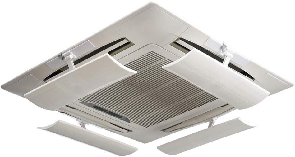 Deflector de Viento para Aire Acondicionado, Deflector Anti-Recto de Salida de Aire, máquina de Techo, Paquete de 4: Amazon.es: Hogar