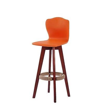 Outstanding Amazon Com Tlmy Solid Wood Bar Chair European Style Bar Inzonedesignstudio Interior Chair Design Inzonedesignstudiocom