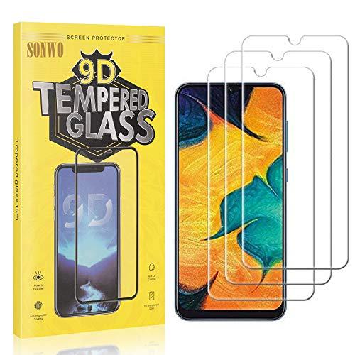 3 Stück Displayschutzfolie Kompatibel mit Galaxy A51, SONWO Panzerglas Schutzfolie für Samsung Galaxy A51, Gehärtetes...