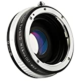 Zhongyi Lens Turbo II Nikon (G)-M43 Focal Reducer Booster Adapter with Portable Case for Nikon(G) Lens to Olympus Panasonic Cameras