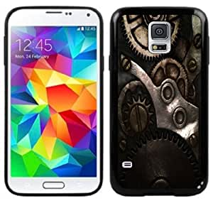 Steampunk Gears Handmade Samsung Galaxy S5 Black Case