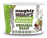 Naughty Noah's Vietnamese Pho Noodles   Original Beast Flavor (6-pack)   Vegan   Non-GMO   Noodle Bowl