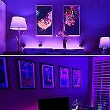 Onforu LED Black Light Bulbs 60W Equivalent, A19
