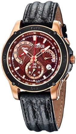 Plq Rosebraunschwarz Herren Lotus Chronograph 99922Uhren vmNwn80O