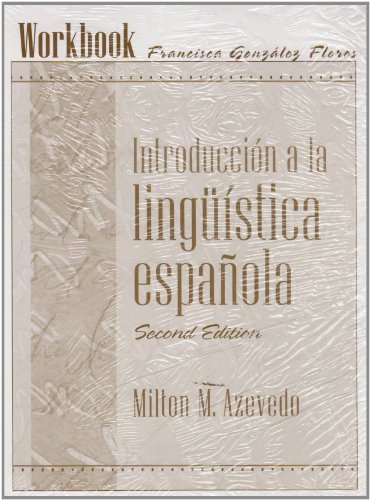 Workbook for Introduccin a la lingüística española