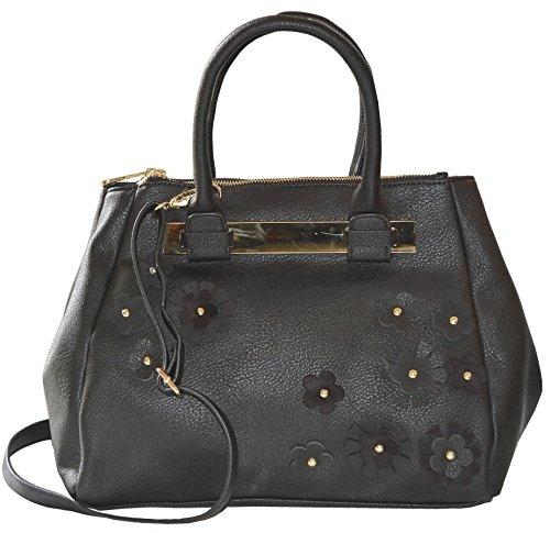 79fd2296a27 Steve Madden DO Karla Floral Satchel Crossbody Bag Handbag Purse For Women