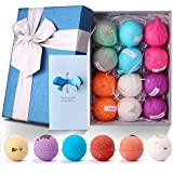 Parts3A Bath Bombs Gift Set,Birthday Mothers Day Gifts 12 Uniquely Designed Bath Bomb Idea for Women,Men,Kids and Girlfriend