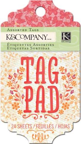 K&Company Tag Pad, Handmade