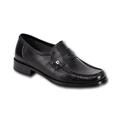 Pierre Cardin Slipper Schuhe Schwarz 42,5: : Schuhe