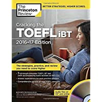 Cracking the TOEFL iBT with Audio CD, 2016-17 Edition