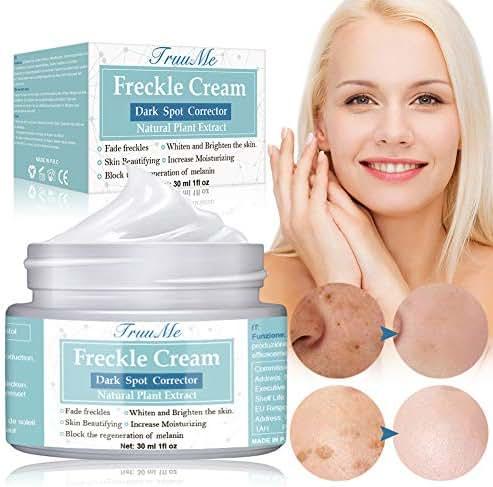 Freckle Cream, Dark Spot Corrector, Melasma Cream, Natural Gentle Skin Brightening & Bleaching Cream for Face Fade Hyperpigmentation Remover Dark Spots, Repair Damaged Skin